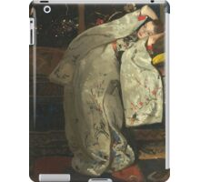 Vintage famous art - George Hendrik Breitner - Girl In White Kimono iPad Case/Skin