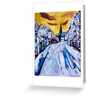 Irish Townscape Greeting Card