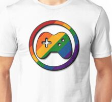 Rainbow Game Controller Icon Unisex T-Shirt