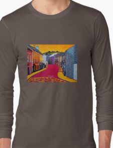 Bandon, Cork - Oliver Plunkett Street (Ireland) Long Sleeve T-Shirt