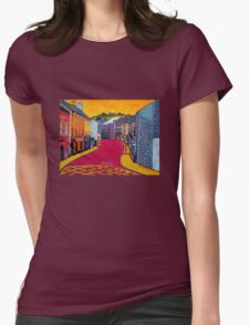 Bandon, Cork - Oliver Plunkett Street (Ireland) Womens Fitted T-Shirt
