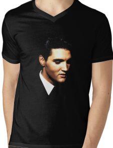 Elvis Mens V-Neck T-Shirt