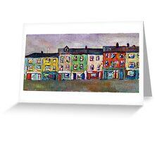 Irish Street III Greeting Card