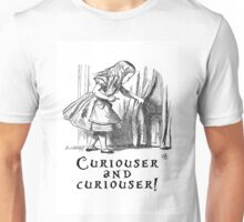 Curiouser and Curiouser Unisex T-Shirt