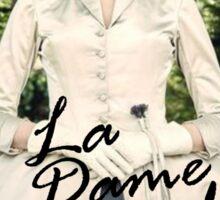Outlander/La Dame Blanche  Sticker