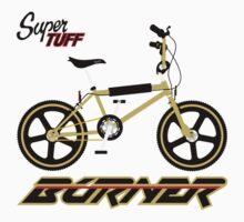 super tuff burner Kids Tee
