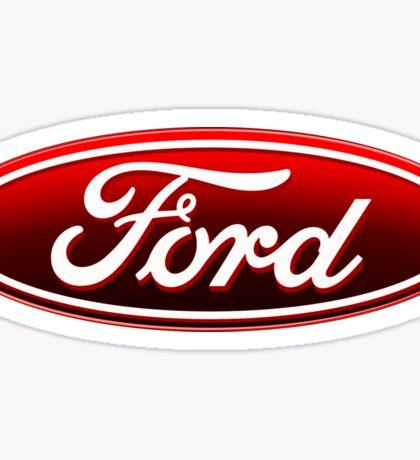 Ford Logo Sticker