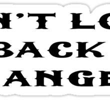 Oasis Inspirational Motivational Lyrics Sticker