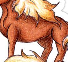 Equestrian Grad Sticker