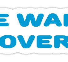 The War Is Over Peace Love T-Shirts Sticker
