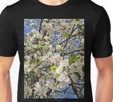 Thousands of White Flowers Unisex T-Shirt