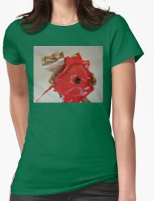Inca and the Red Dragon Womens Fitted T-Shirt
