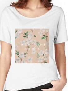 floral tøp Women's Relaxed Fit T-Shirt