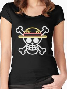Straw Hat Pirates V1 Women's Fitted Scoop T-Shirt