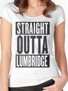 Runescape Lumbridge Women's Fitted Scoop T-Shirt