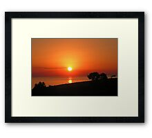 Dawn in the South sixth series Framed Print