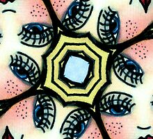 Kaleidoscope freckled faces by shoppy76