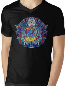 Dance of Spirograph Mens V-Neck T-Shirt