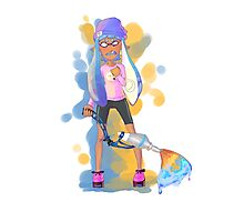 Squid Girl Photographic Print