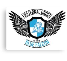 Fraternal Order of the Blue Falcon Canvas Print