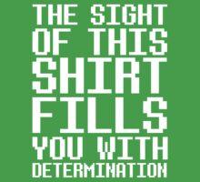Undertale - Determination  One Piece - Short Sleeve
