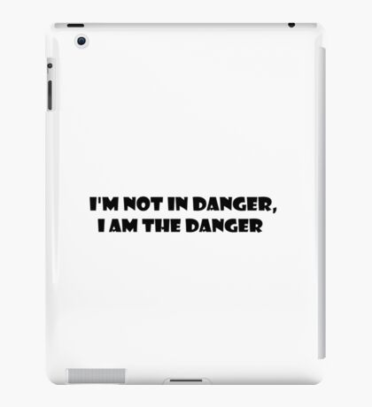 Breaking Bad Walter White Heisenberg Tv Show Quote iPad Case/Skin