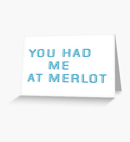 Funny Cool Flirt Wine Party Joke Gift Greeting Card