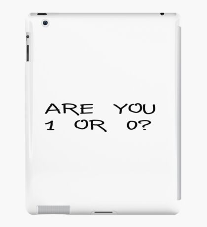 Mr Robot Famous Tv Show Quotes iPad Case/Skin