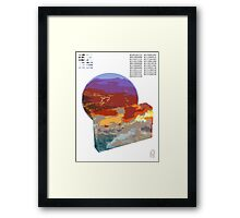 The Receptive Never. Framed Print