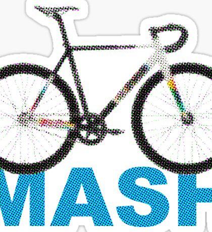 Fixie Mash Bike Sticker