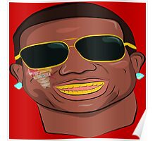 Gucci Mane-Burr-Trap God Poster