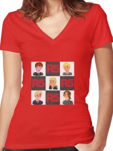 R5 Women's Fitted V-Neck T-Shirt
