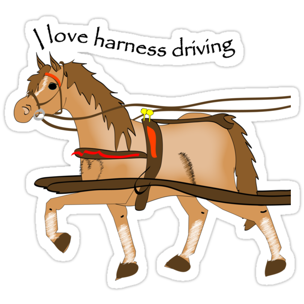 I love harness driving by Diana-Lee Saville