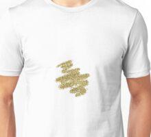 Gold sparkle Unisex T-Shirt