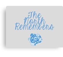 North Remembers Canvas Print