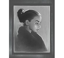 """""""Milena"""" Rainy Glow Photographic Print"""