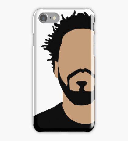 J Cole Minimalistic Cartoon iPhone Case/Skin