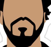 J Cole Minimalistic Cartoon Sticker