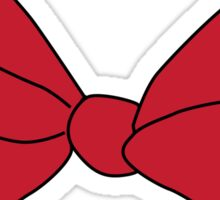 Minnie Mouse Bow Sticker