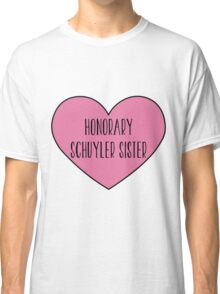 Honorary Schuyler Sister Classic T-Shirt