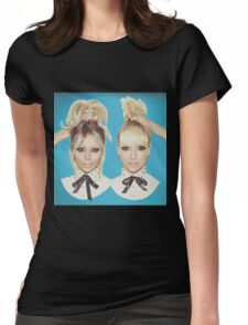 Dumblonde Womens Fitted T-Shirt