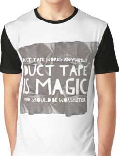 Duct Tape Graphic T-Shirt