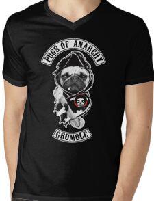 pugs of anarchy Mens V-Neck T-Shirt