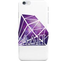 ADPi Diamond - Purple iPhone Case/Skin
