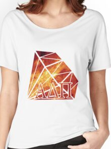 ADPi Diamond - Red Women's Relaxed Fit T-Shirt