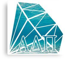 ADPi Diamond - Ocean Canvas Print