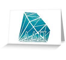 ADPi Diamond - Ocean Greeting Card
