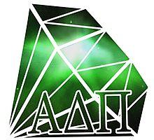 ADPi Diamond - Green Photographic Print