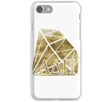 ADPi Diamond - Gold iPhone Case/Skin
