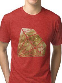 ADPi Diamond - Gold Tri-blend T-Shirt